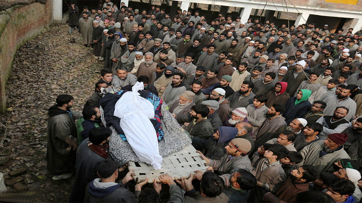 Indian troops martyr 3 more youth in Srinagar