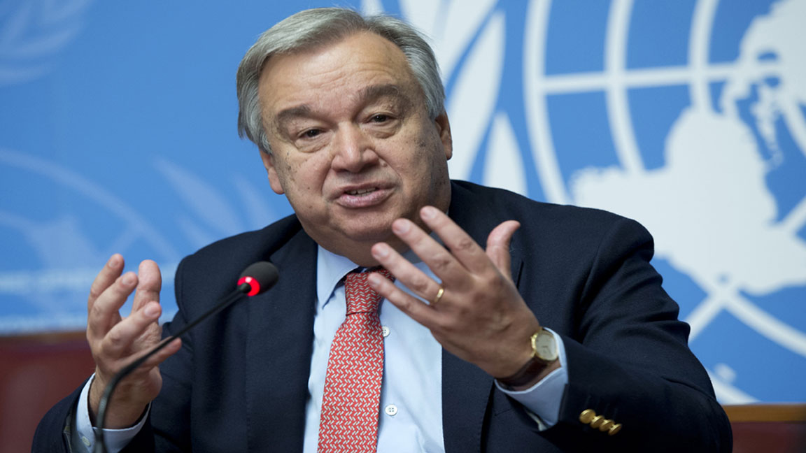 UN Chief calls for immediate steps to curb global warming