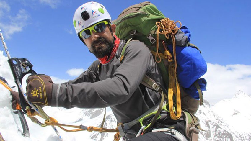 Mountaineer Mirza Ali becomes first Pakistani to scale seven peaks in seven continents