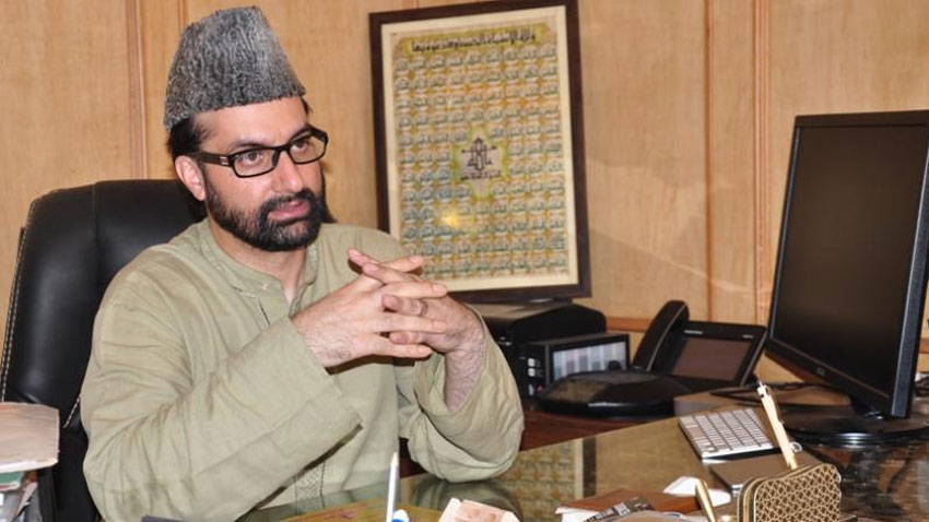 Mirwaiz urges Indian Govt to take repeated dialogue offer of PM Imran seriously