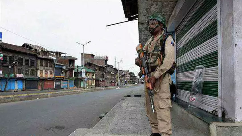 Complete shutdown being observed in Occupied Kashmir today