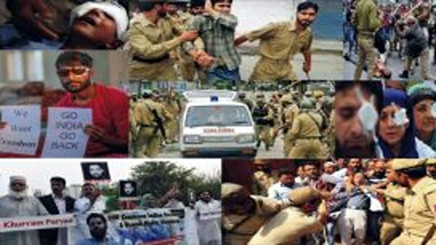 India using every brutal tactic to muzzle freedom voice in IIOJ&K