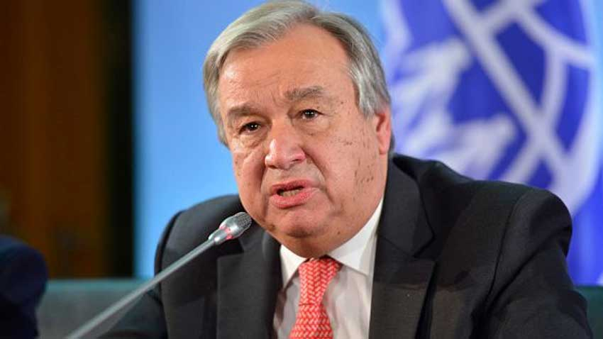 UNSG reiterates commitment to support Govt & people of Afghanistan in efforts for peace